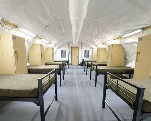 military base beds