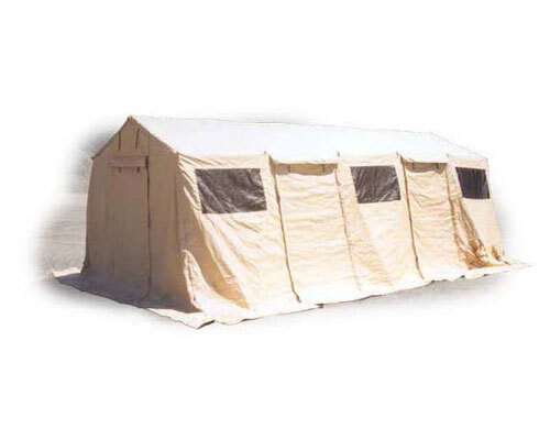 military base camp tent