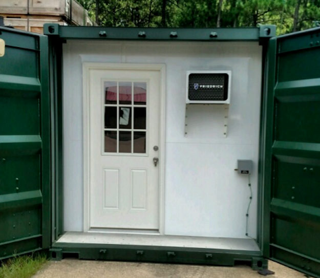 berg container entrance