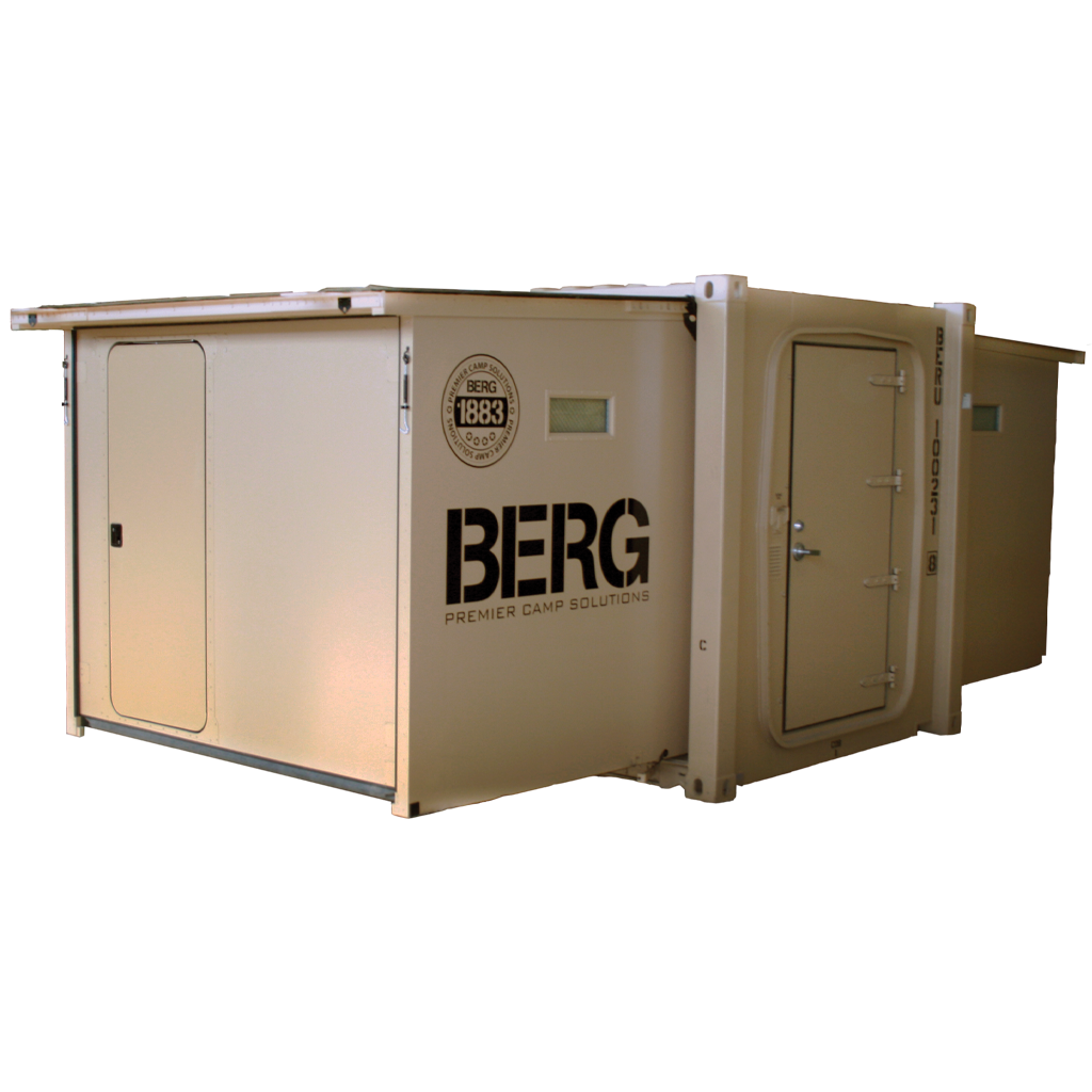 BERG 10 foot container