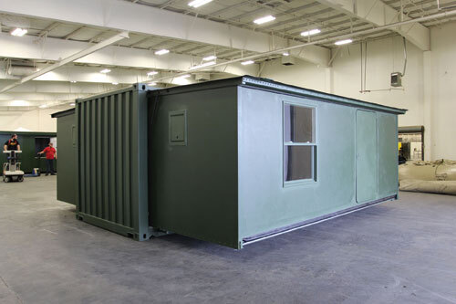 BERG expandable container