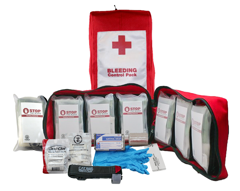 large stop the bleed kit