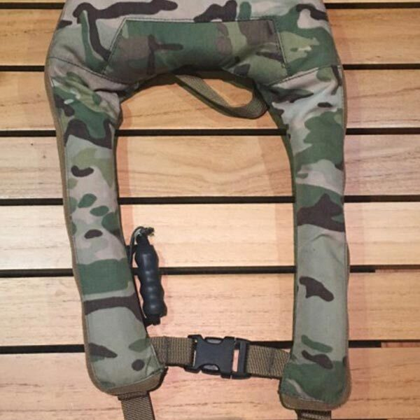 military life preserver inflatable harness