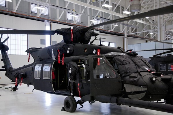 corrosion protection for helicopter
