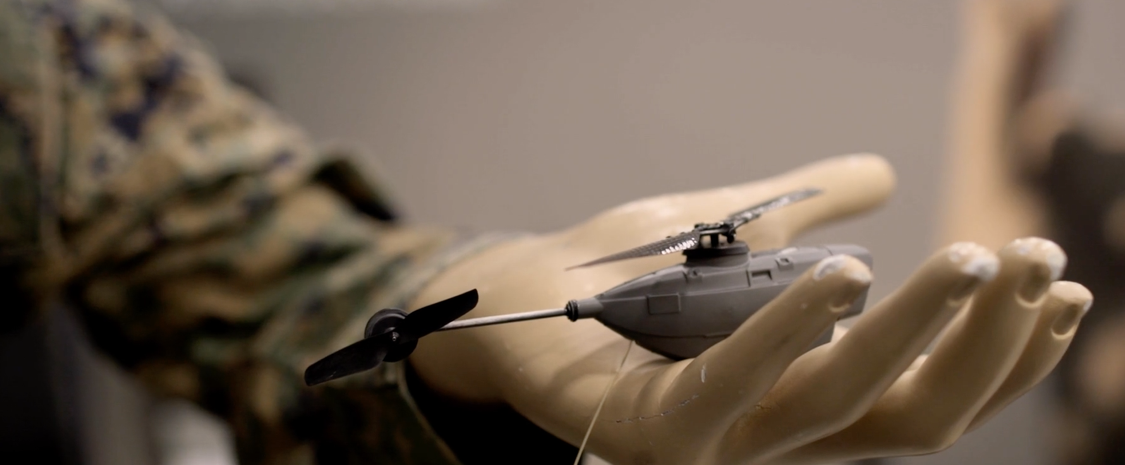 miniature drone helicopter