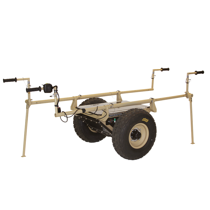 steed cart with handles and wheels