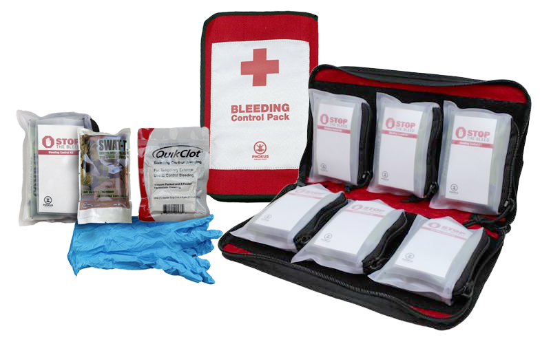 small stop the bleed kit