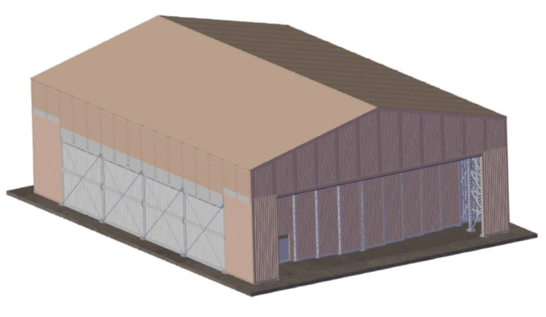 military esap shelter structure
