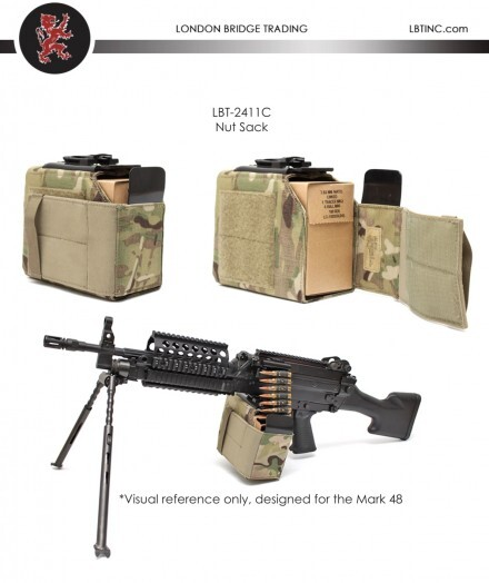 military soft ammo carrier