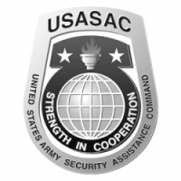 u.s. army security assistance command logo